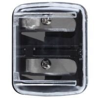 Precision Cosmetic Pencil Sharpener for Eyebrow Eyeliner 2 Holes T4T2