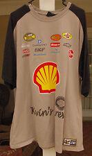 Kevin Harvick Krew Foundation Colton Ca Police Car Nascar Racing T-shirt 2Xl