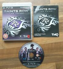 Saints Row The Third - ps3 playstation 3 game complete
