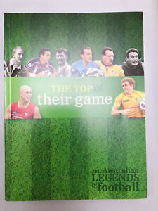 2012 Australian legends Of Football The Top Of Their Game Stamp Booklet MINT