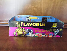 STAR WARS TRILOGY EDITION LAYS RD-D2 3-CPO STORE DISPLAY CHIP BOX 1988 RARE