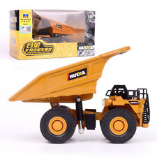 1:60 Alloy Mine Dump Truck Model Metal Diecast Vehicle Car Construction Collecti