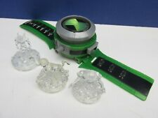 Original BEN 10 Cristal Topper Relojes Omnitrix Luces, Sonidos BANDAI Alien Force