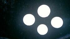 4 Balles en mousse de golf blanche diamètre 4 centimètres