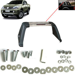 Fit Mitsubishi L200 1998 - 2018 Stainless Steel Sports accessories Roll Bar chr