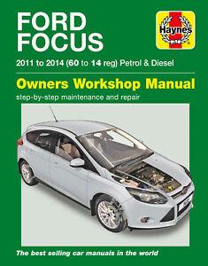 Ford Focus Petrol & Diesel (11 - 14) Haynes Repair Manual