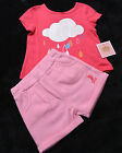 Girls Toddlers JUICY COUTURE 2 Piece SHIRT SHORT SET Size 3-6 Months NWT NEW