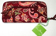 NWT $42 Vera Bradley Travel Organizer Piccadilly Plum Retired Pink Floral NEW