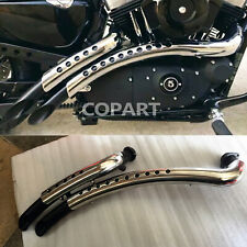 Shortshots Staggered Complete Exhaust System For Harley Sportster 883 1200 48 72