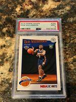 2019 Panini Hoops Zion Williamson NBA Rookie Card PSA 9 Mint #296 RC Pelicans