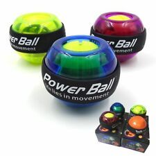 Gyro Power Ball LED Wrist Ball Trainer Gyroscope Strengthener Powerball Exercise