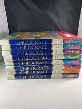 ChildCraft Books Annuals 1995 Hardcover 9 Books Educational
