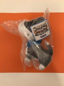 E3 2014 Natsume Harvest Moon Promotion Plush - BLUE DOG - Rare Variant (Sealed)