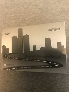 2019 CHEVROLET SILVERADO OWNER'S MANUAL - VERY GOOD CONDITION FREE SHIPPING