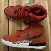 Nike Air Jordan Legacy 312 Toro GS SIZE 4.5Y= 6 WOMAN AT4040-601 Red/Black