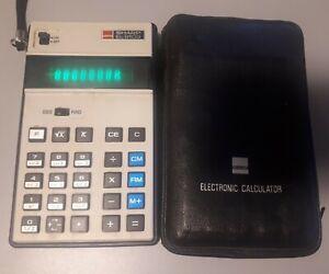 Rare 1974 Sharp EL-8103 Scientific Calculator,  Working condition, original case