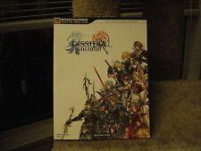 Dissidia Final Fantasy Bradygames Signature Series Guide