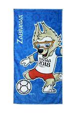 Offiz. FIFA Russia WM 2018 Fußball Handtuch Badetuch Zabivaka World Cup Towel