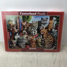 CSC200726 - Castorland Jigsaw 2000 pc - House of Cats
