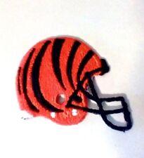 Vintage Cincinnati Bengals Helmet Embroidered Iron On Patch NFL Logo