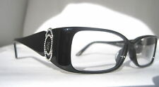 Chopard VCH 067 S 0700 Designer Eyeglasses Black Silver Authentic ITALY