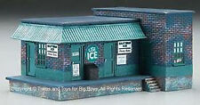 Imex 6150 HO ICE HOUSE FACTORY Built Up Building Structure Train Scenery New R