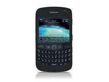 Black SILICONE CASE SKIN COVER for Blackberry Curve 8900 tm093