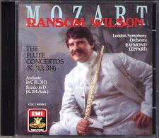 Ransom Wilson: Mozart Flute Concerto 1 2 Raymond Leppard EMI CD flautí concerti
