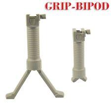 TAN! FDE! Foregrip + Bipod Rail Tactical RIS Foldable Rifle Grip