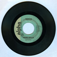 Philippines FREDDIE AGUILAR Sigarilyo OPM 45 rpm Record