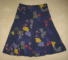 White Stuff  Skirt Size 8-16 abstract floral print