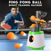 Ping Pong Table Tennis Automatic Ball Machine Launcher for Training Exercise