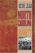 The Civil War in North Carolina by John G. Barrett (1995, Paperback) HISTORY