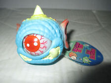 Blue Eye Monster Ball w/ Horn Figure Cyclops Toy Toysmith Eye Pops In and Out