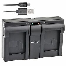 FNP-45 Battery& USB Dual Charger for FinePix JV155 JV160 JV200 JV205 JV250 JV255