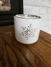 Swarovski Crystal Embellished Candle Holder Snowflake Winter design