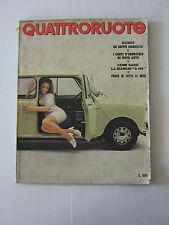 QUATTRORUOTE AGOSTO 1969 / ANNO XIV / NUMERO 164  - LEGGI