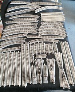 Kato N Gauge Track Job Lot - Straights curves points crossover Unitrack 52 piece