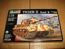 Revell - Tiger II edizione.B - Kit di costruzione - 1:72