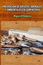 Prevención de Riesgos Laborales  y ambientales en carpintería (Spanish Edition)