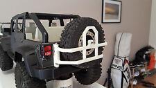 Tires wheel carrier Jeep wrangler rubicon New bright body RC crawler rear bumper