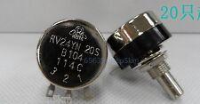 COSMOS/TOCOS RV24YN  20S B104 Potentiometer, 100K OHM Long Life Panel Pot