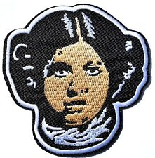 Star Wars Carrie Fisher Princess Leah Patch Embroidered Iron On Quality