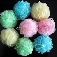 Bath/Shower Body Exfoliate Puff Sponge Scrub Mesh Net Ball Massage