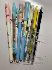 US Seller Korean Stationery Cute Ballpoint Rollerball Pen Black Ink School