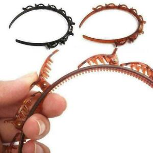 Haarreif mit Haarspange Haarklammer Hair Twister Frisurenhilfe Hairstylehilfe