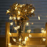 2M Warm White Christmas Fairy String Lights Wedding Xmas Party Home Decor Lamp
