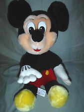 """Disney Traditional Vintage Mickey Mouse 14"""" Plush Soft Toy Stuffed Animal"""
