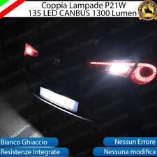 COPPIA LUCI RETROMARCIA 135 LED P21W BA15S CANBUS 3.0 ALFA ROMEO GIULIETTA 6000K