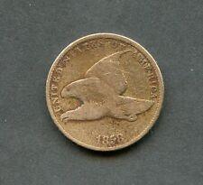 États-unis 1858 Flying Aigle Cents Vous Do The Classement Avoir Amusant